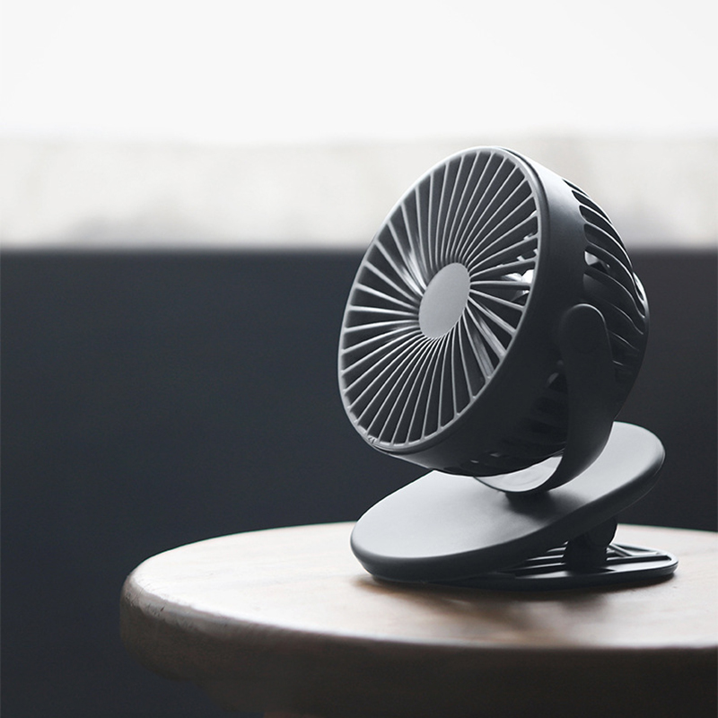 Solove Clip Mini Fan F3 Tragbare Handwindschutzscheibe 360 Grad Front Mes Z9T1