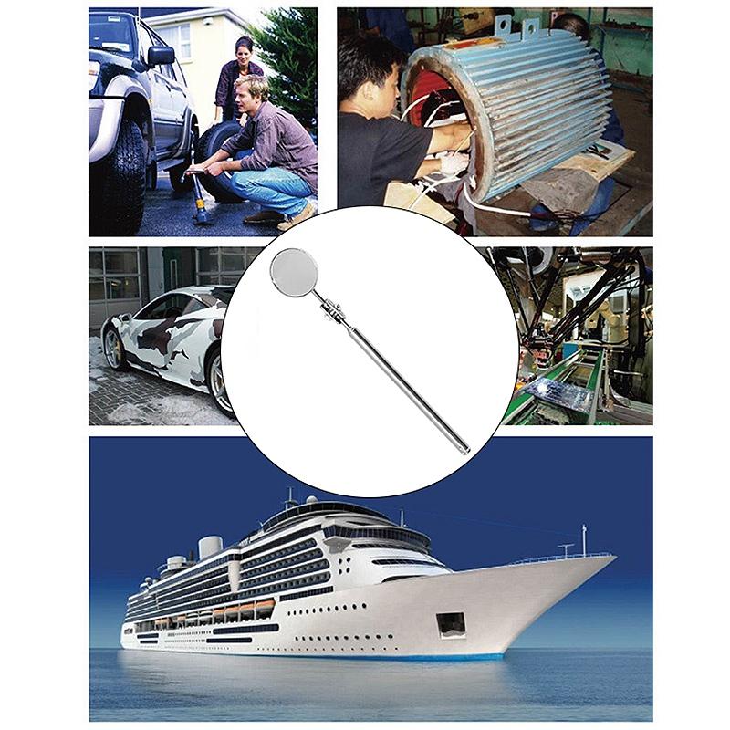 Universal maintenance automobile Inspection miroir pliant télescopique refle F5G8