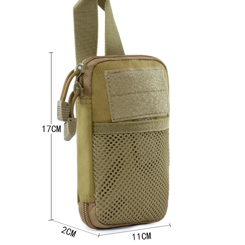 1X Federung Kleine Tasche Mesh Werkzeug Zubehör Kleine Tasche Edc Tasche JaD2B9
