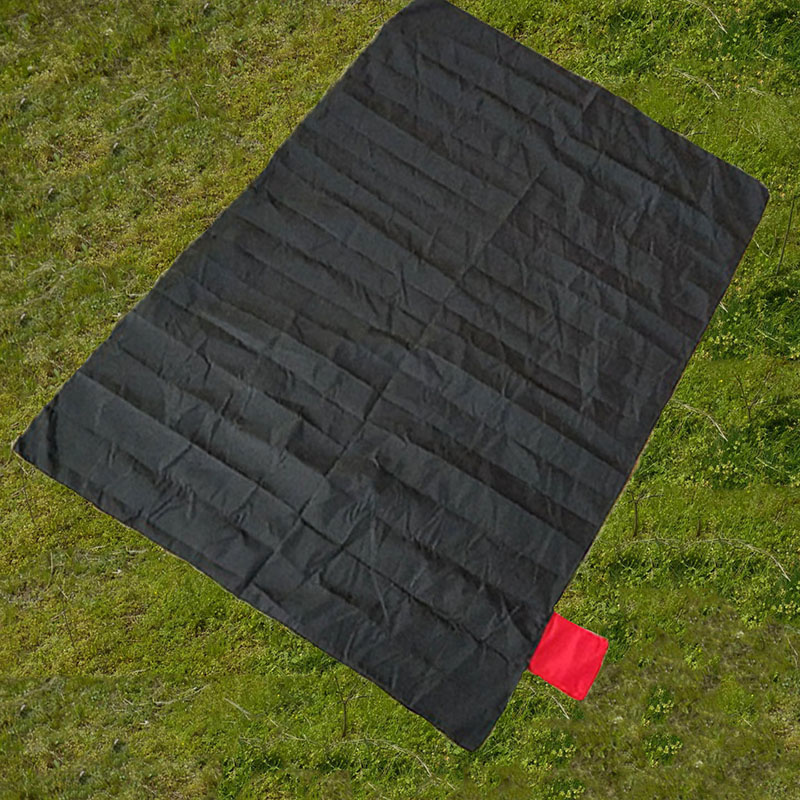 Outdoor Camping Nylon Pocket Pad Portable Picnic Camping Pad Mini Beach Pocket N