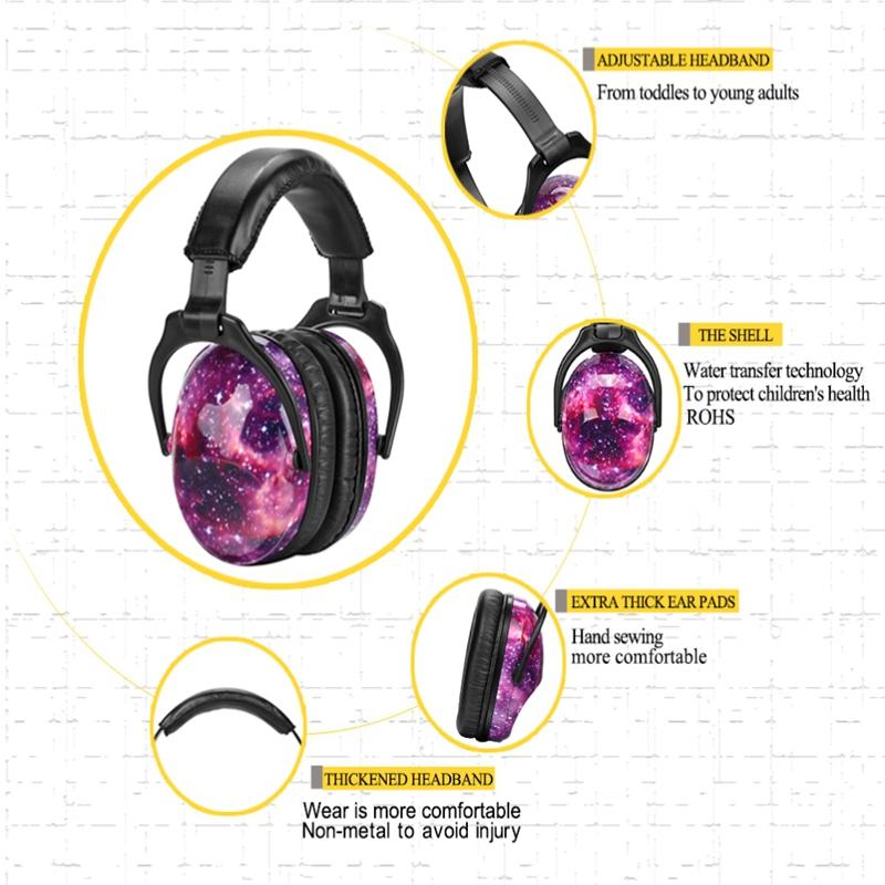 Kids Ear Protection Ear Muffs Nrr 22Db Noise Reduction Ear Defenders Best H U5E8