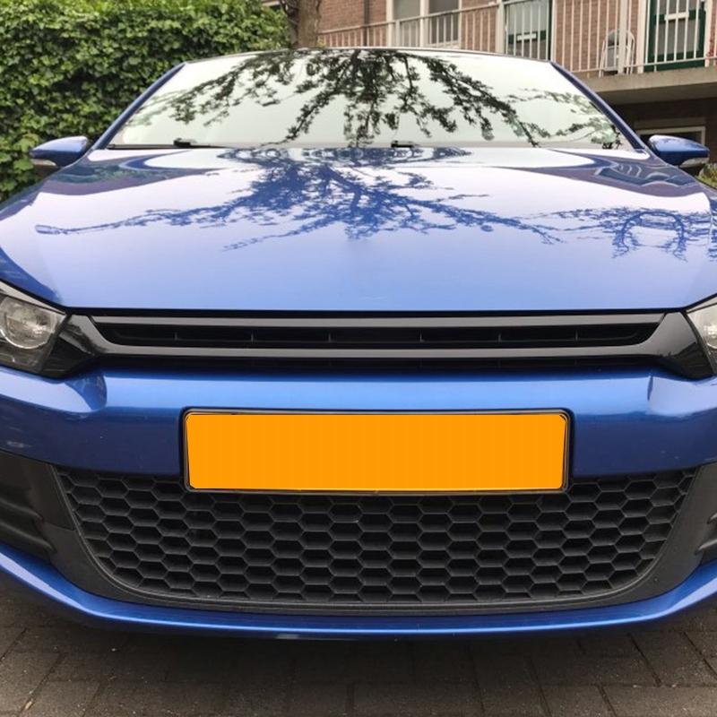 Auto Scheinwerfer Augenbraue Aufkleber Dekoration für Volkswagen Scirocco G G3A4