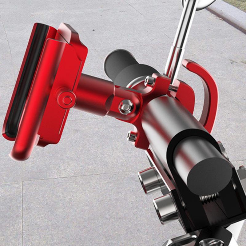 Mtb Radfahren Straße Fahrrad Handyhalter Aluminiumlegierung 360 Grad-Umdreh R5R7