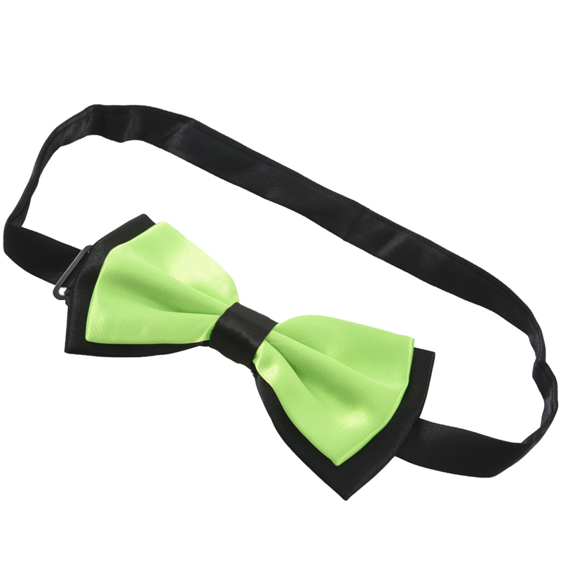 Bowknot Design 2 Layers Polyester Adjustable Bow tie D5I6