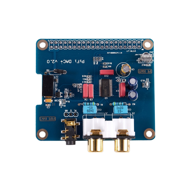 3X PIFI Digi DAC HIFI DAC Audio-Soundkartenmodul I2S-Schnittstelle FÜR RaspV8T8