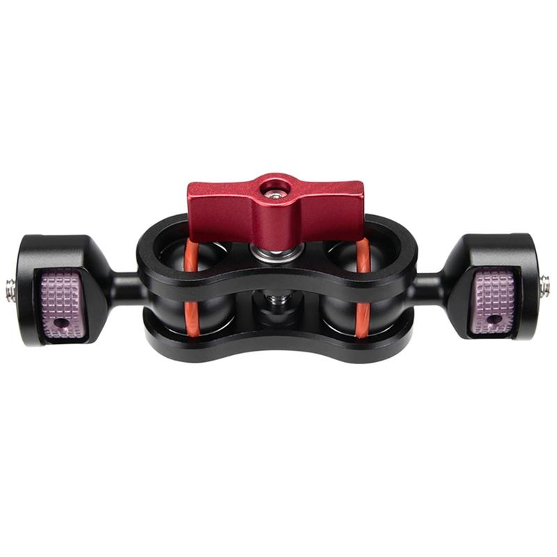 Cabezas de trípode articulado de liberación rápida brazo mágico cabezas de Adaptador de montaje 1//4 I X3G3