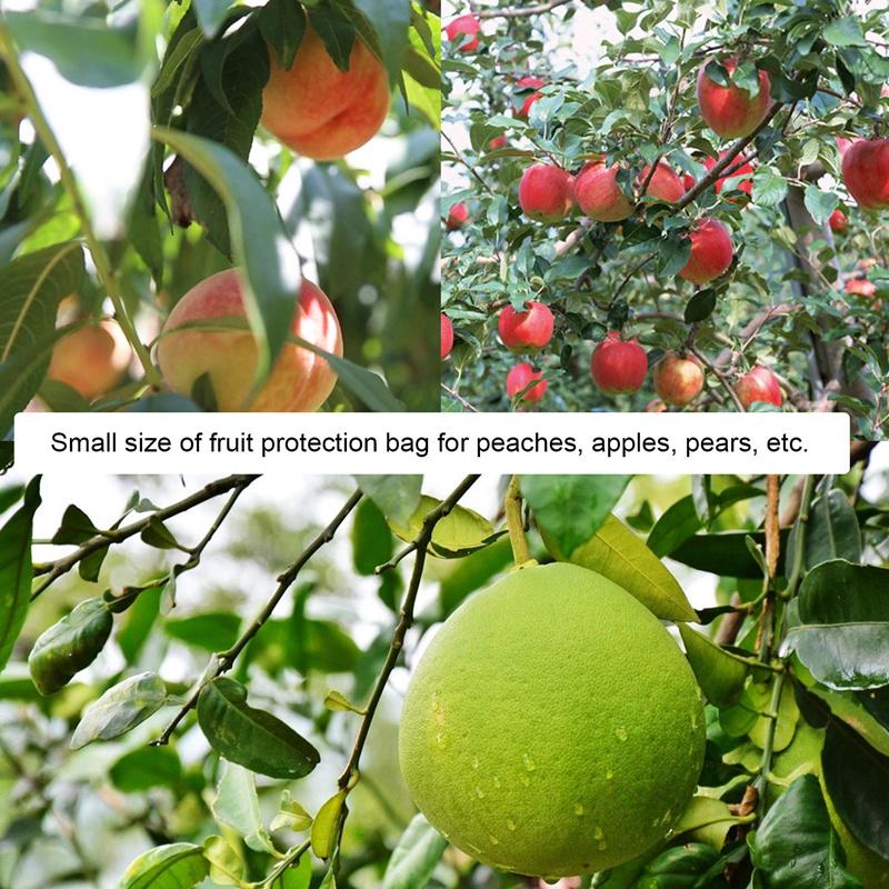 100Pcs Sac de Protection de Fruits Sac de BarrièRe de Filet Non Tissé Jard K1C9