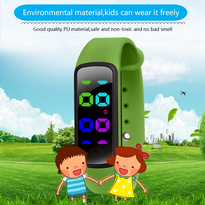 Potty Training Watch-Water Resistant Baby Reminder Timer-Urinal Trainer for P2I1