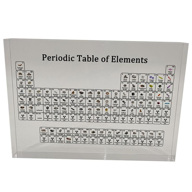 Acrylic Periodic Table Display Kids Teaching School Day Teachers Day Birthd W5N5