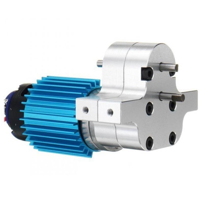DrehzahläNderung Getriebe Metall Getriebe mit 370 BüRsten Motor Eloxal Beha Q2C4