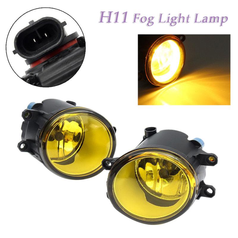 Focus MK3 ST 2011-2015 Front Fog Light Lamp Pair Left /& Right