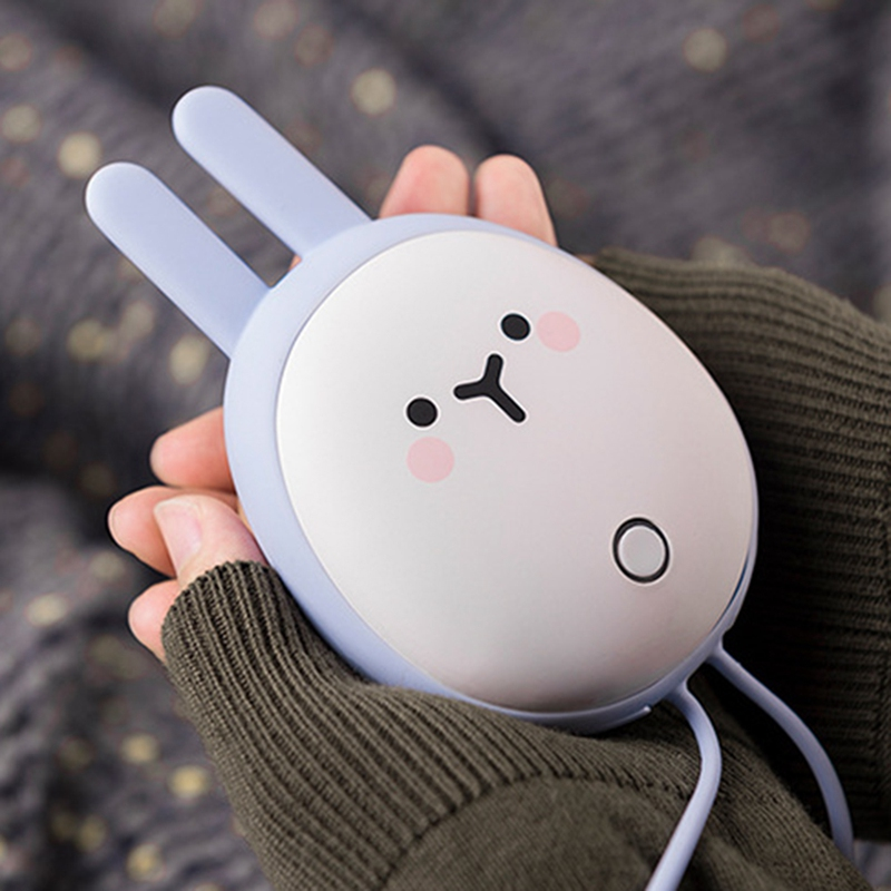 Tragbare Niedliche USB Wieder Aufladbare Hand WäRmer Heizung Tasche Mini Ka T3S2