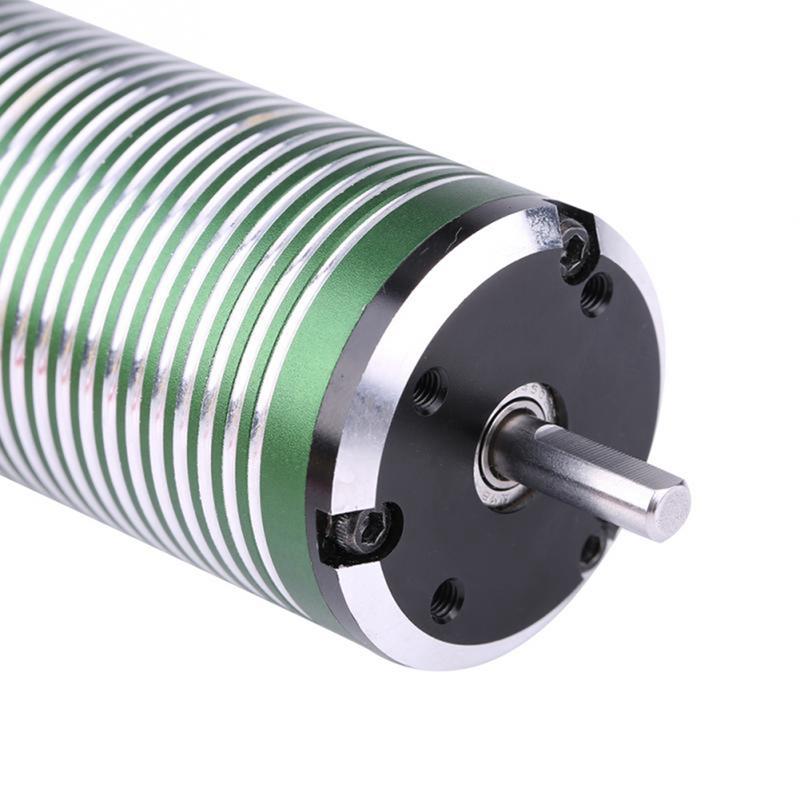 3665 4 Poles Metal Motor RC Part for 1//8 1//10 1//12 Remote Control Car Ship P3N6