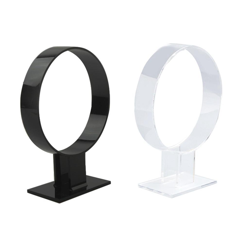 Acrylic Headband Holder Hair Band Headgear Display Standard Holder Hair Band Sto