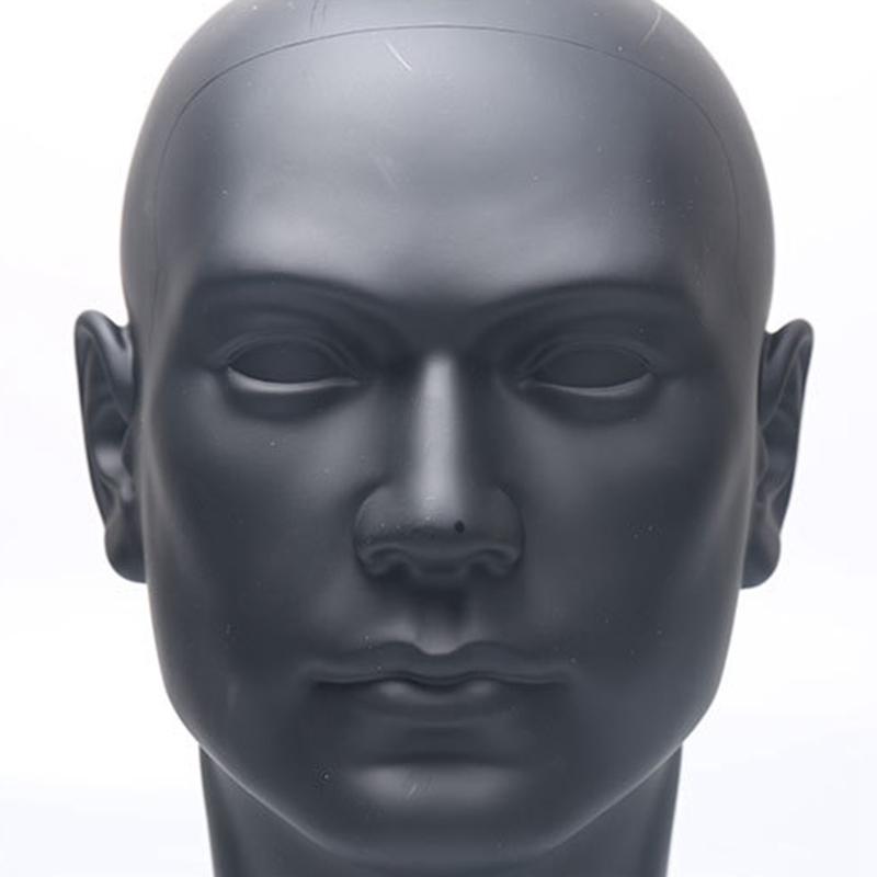 MäNnliche Schaufensterpuppe Puppe Kopf Modell PerüCke Training Styling Kopf T8O5