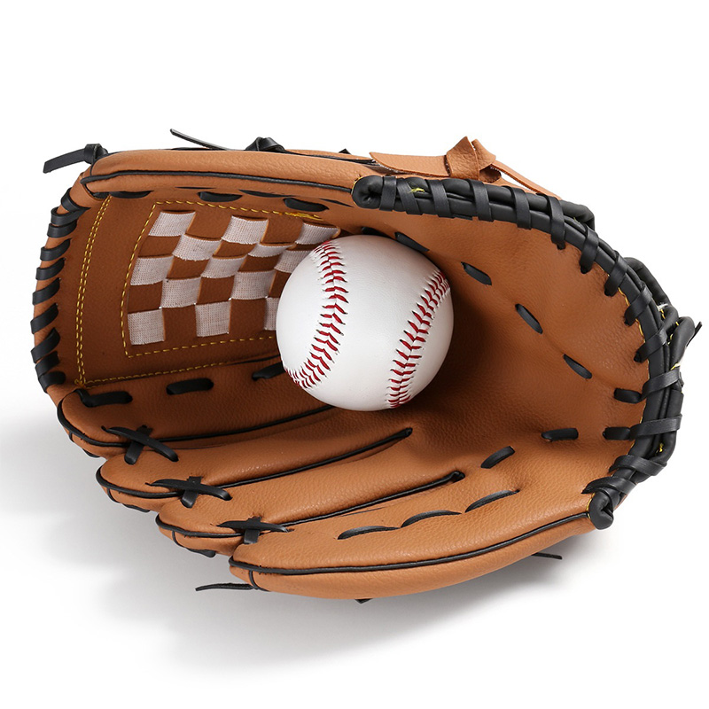 Outdoor Sports 2 Colors Baseball Glove Softball Practice Equipment Right Hand fo