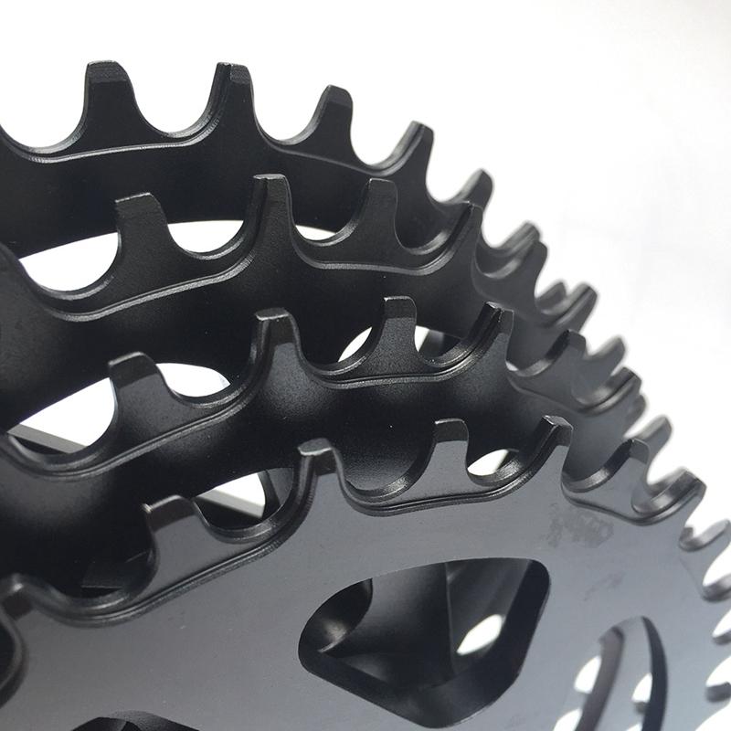 Racework Vélo plateau pédalier CYCLE Chainwheel Single Chainring pour W8V7