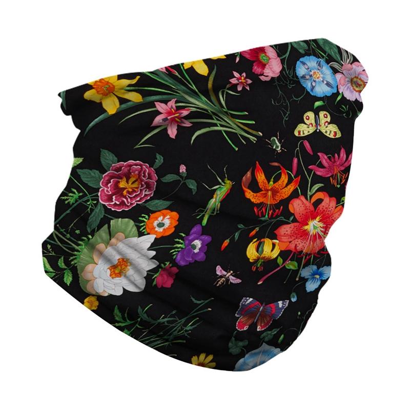 Fashion Print Respirant Face Bandana Magic Scarf Headwrap Balaclava L6I8