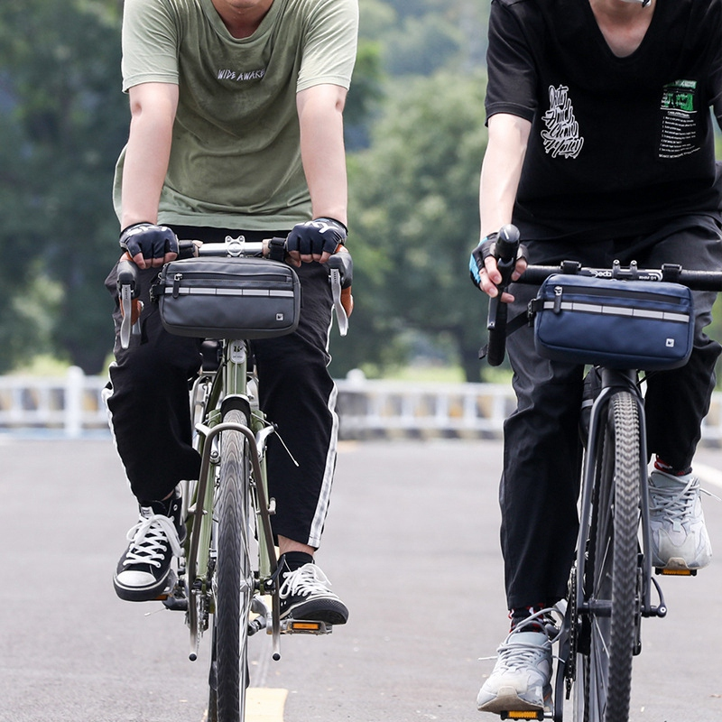 Rhinowalk Fahrradtasche Vorderrohrrahmen Lenker Wasserdichtes Radfahren G3C3