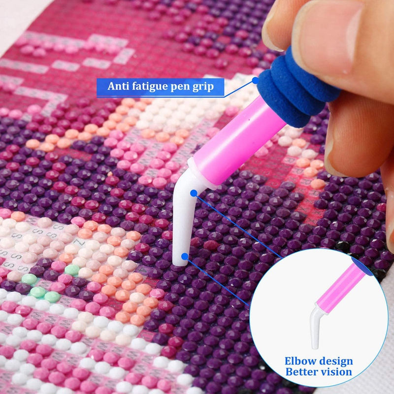 8 StüCk Diamond Painting Pen 5D Diamond Stickstift Diamond Painting Pen Zu P4D1