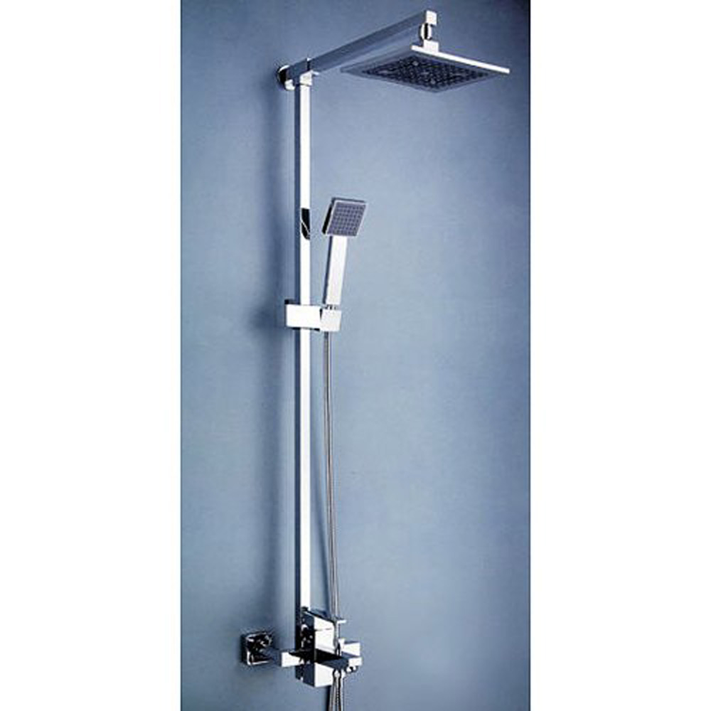 "Contemporary 8 ""Shower Head And Hand Shower Tub Shower"
