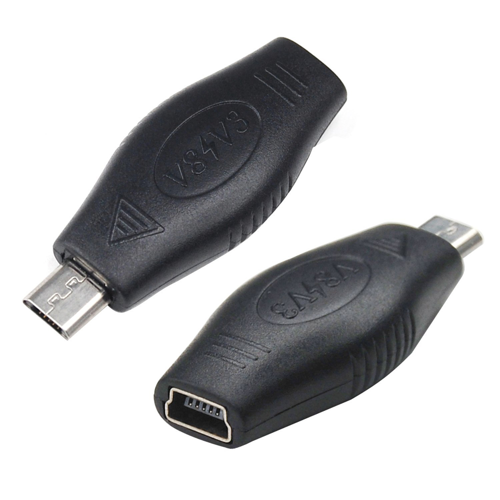 new mini a female usb to micro b male usb charger. Black Bedroom Furniture Sets. Home Design Ideas