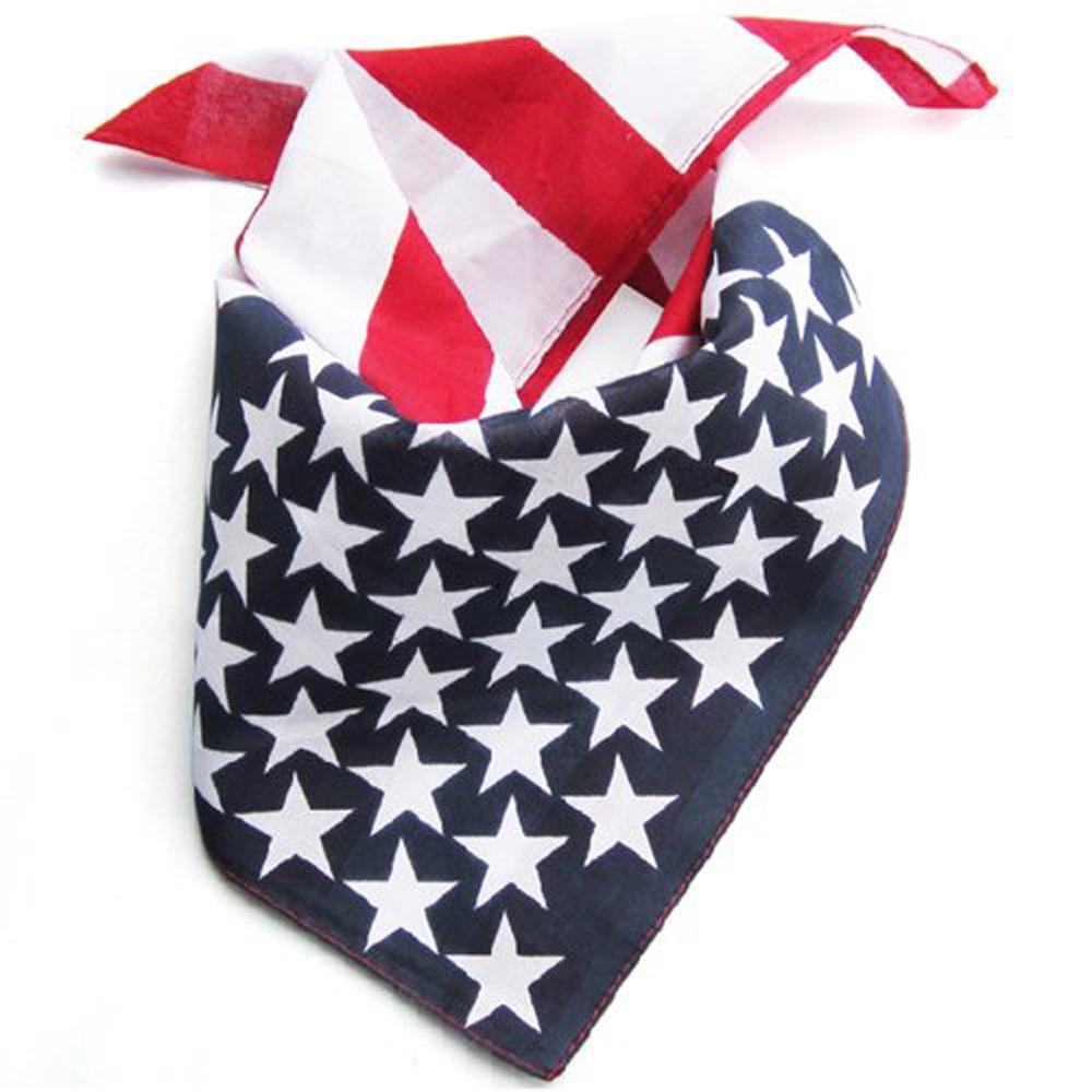 Cool Usa Stars America Flag Ladies Hair Band Head Band
