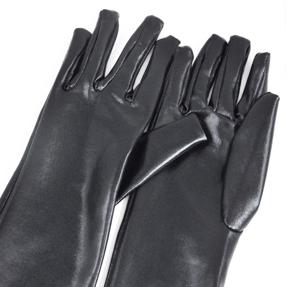 Leather Gloves Fetish 22