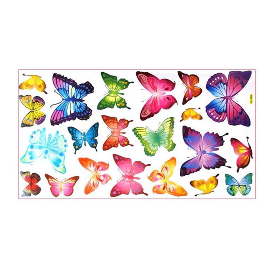butterflies childrens wall stickers mural art decor 21 childrens transport vehicles cars wall stickers decals