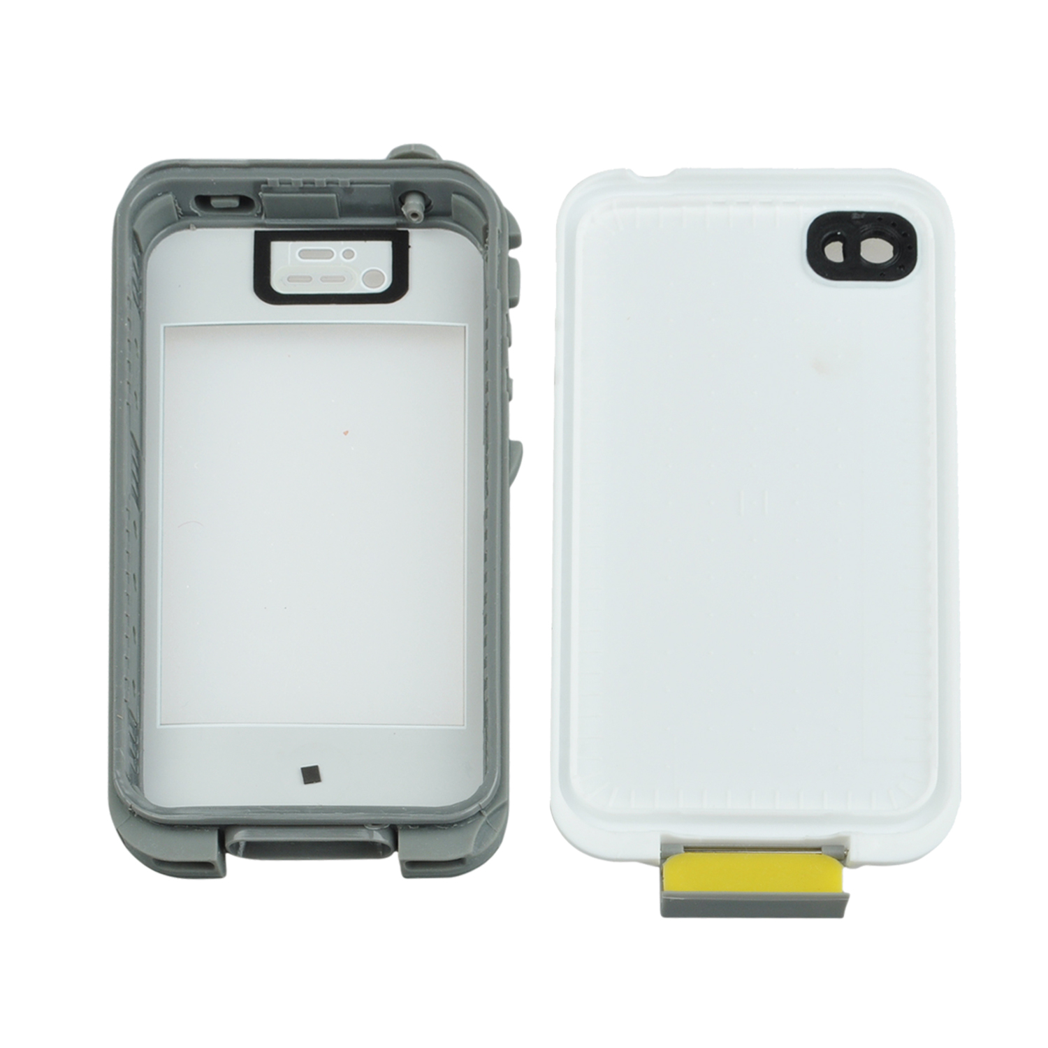 Red Pepper Waterproof Case Cover For Iphone 4S White