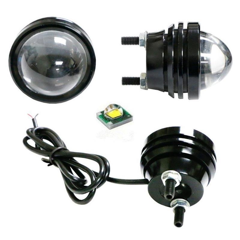 2X12V-blanc-Fish-Eye-DRLLED-antibrouillard-lumiere-diurne-LED-ampoule-R3X6