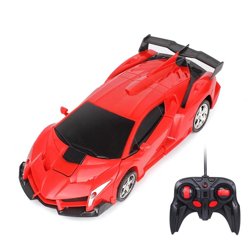 Kinderfahrzeuge 1:18 Transformers drahtlose Fernbedienung Auto Kinder Spielzeug Elektro G3Y9 1X