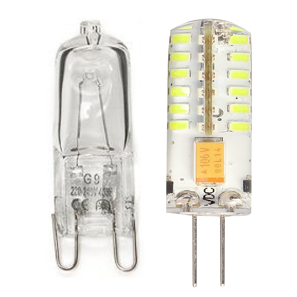 10pcs g9 halogen capsule light bulb lamp 60 watt cp ebay. Black Bedroom Furniture Sets. Home Design Ideas