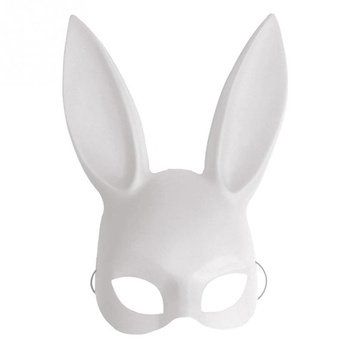Сексуальная маскарадная макса с длинными ушами на Хэллоуин