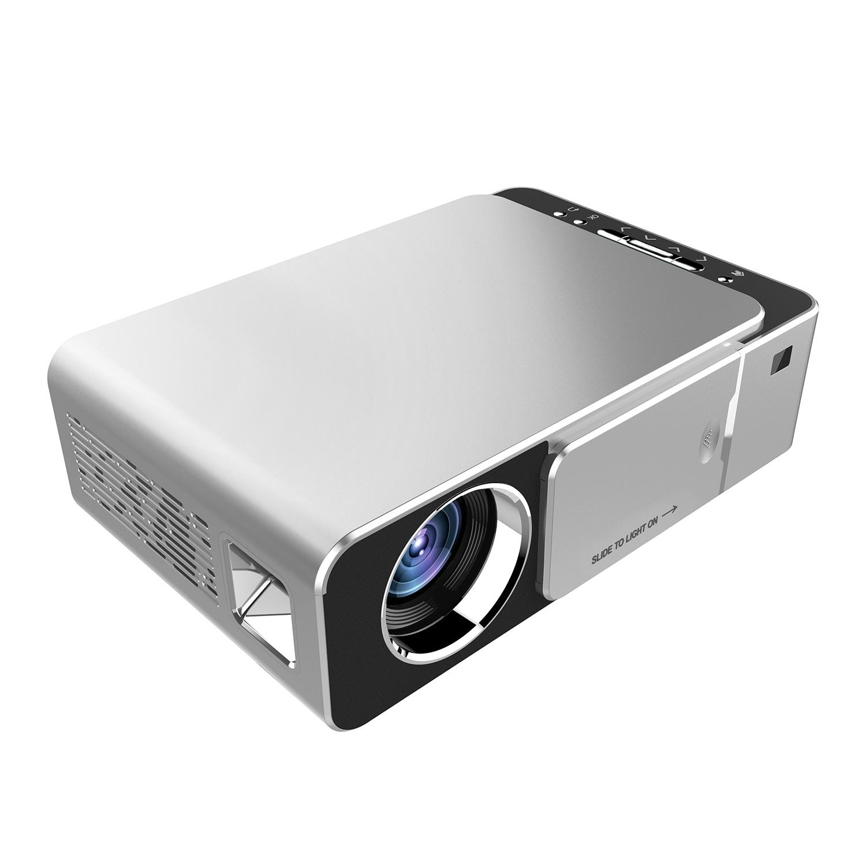 Проекторы Портативный HD мультимедийный светодиодный проектор HDMI VGA AV USB SD с дистанционным управлением EU вилка (Фото 2)