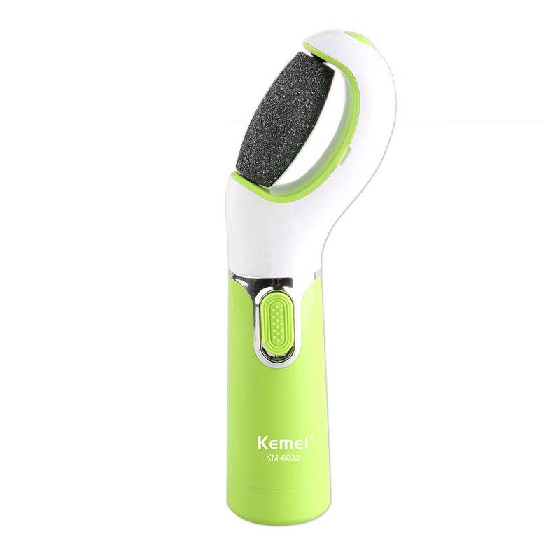 Здоровье и гигиена Kemei KM-6033 Умной устройство на батарее для отшелушивания ног (Фото 6)