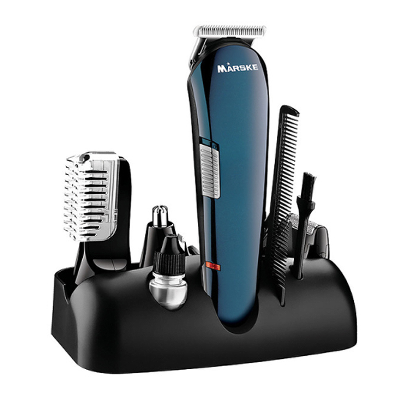 Здоровье и гигиена MARSKE MS-5006 5 в 1 Машинка для стрижки волос с подзарядкой (Фото 6)