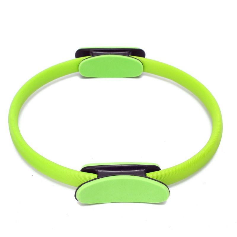 Pilates-Anneau-d-exercice-cercle-de-resistance-Anneau-d-entrainement-Anneau-5Y1 miniature 2