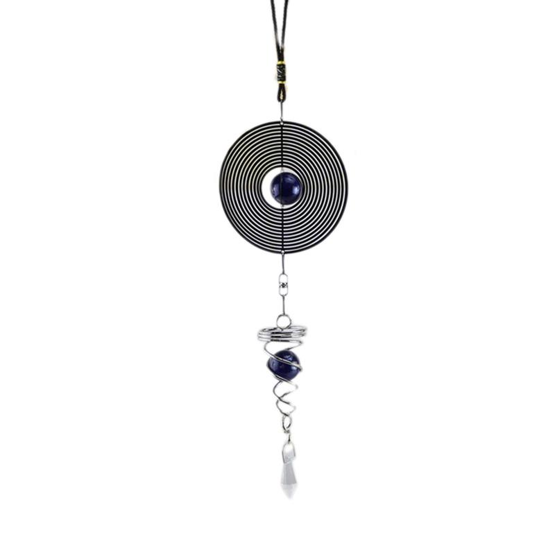 Rotation-en-Spirale-Style-Japonais-Carillon-DeCoration-de-FeneTre-en-MeTal-B4V4 miniature 8