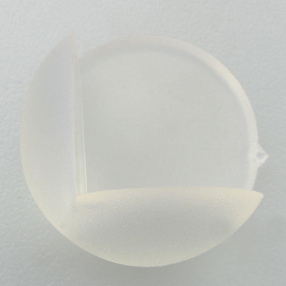 12 stk transparente schutzpolster fuer ecken kante von for Ecken schreibtisch
