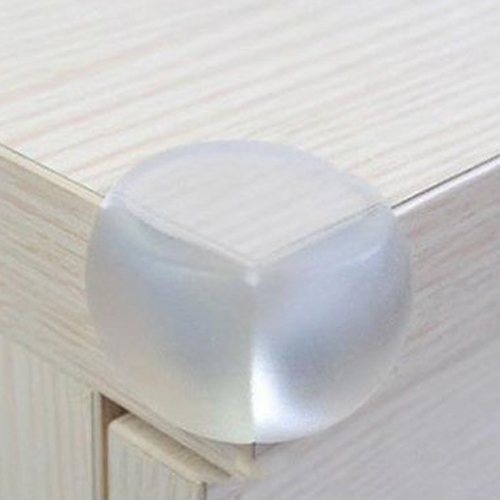 12 stk transparente schutzpolster fuer ecken kante von tisch schreibtisch de. Black Bedroom Furniture Sets. Home Design Ideas