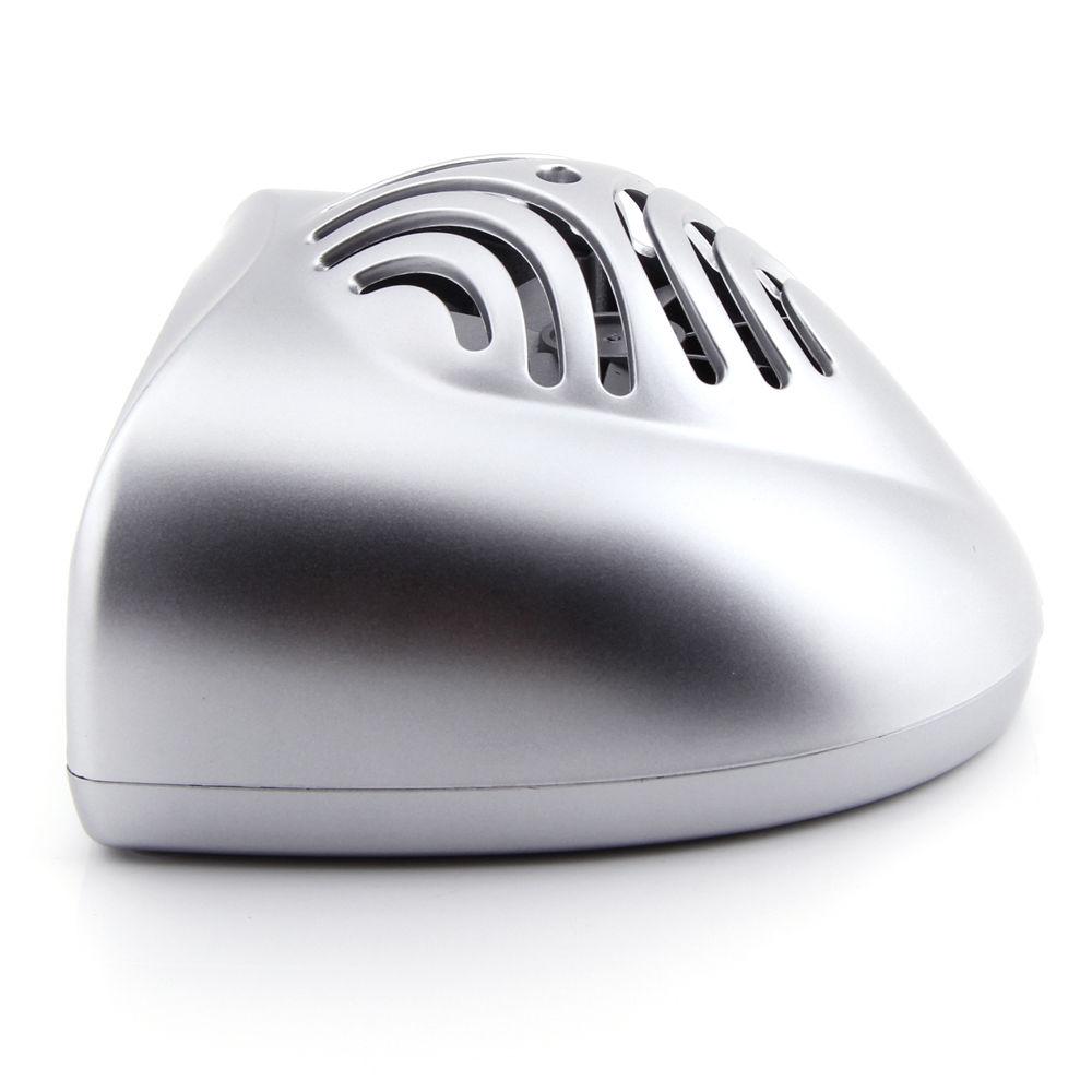 Silver Portable Mini Hand Finger Toe Nail Art Gel Tip
