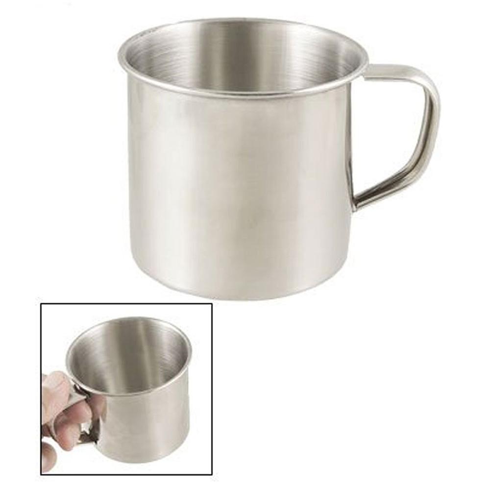 stainless steel coffee tea mug cup camping travel 3 5 n3. Black Bedroom Furniture Sets. Home Design Ideas