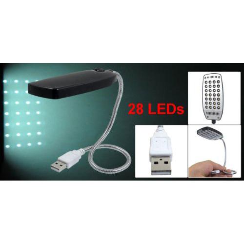 lampe de lecture lampe led usb pour l 39 ordinateur noir 16 3 cou flexible wt ebay. Black Bedroom Furniture Sets. Home Design Ideas