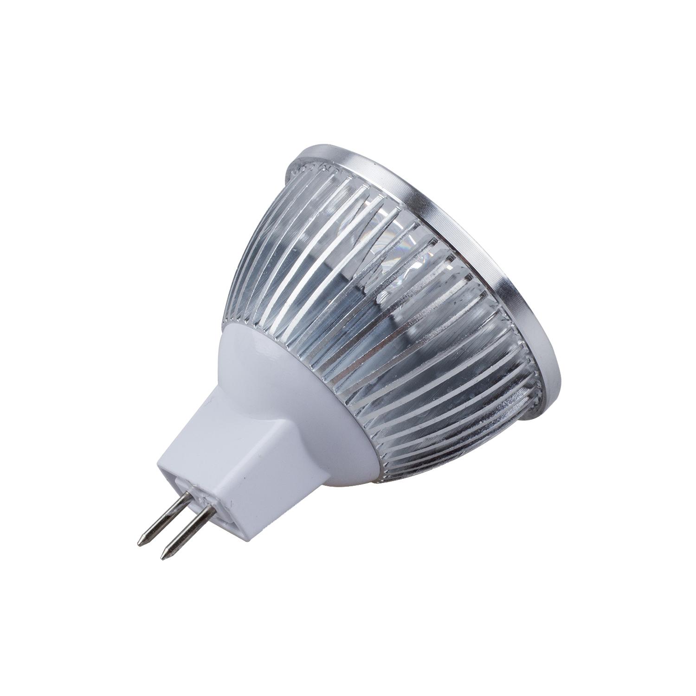 led mr16 spotlight 12v 4w 340 lumen 50 watt equivalent 3200k warm 45 degree ebay. Black Bedroom Furniture Sets. Home Design Ideas