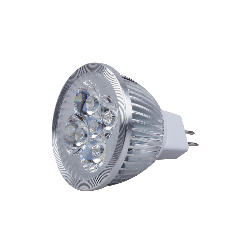 12v 4w mr16 warm white 3200k led spot light 45 view angle 330lm 50w equivalent. Black Bedroom Furniture Sets. Home Design Ideas