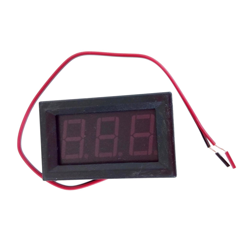 Digital Voltage Meter For Car : Mini digital voltmeter v red led auto car voltage
