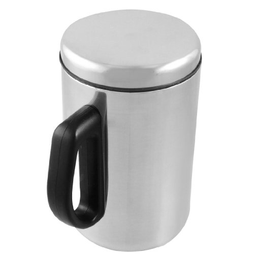 New 500ml silver tone stainless steel drink container tea for Decor 500ml container