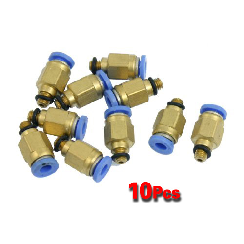 Mm male thread push in joint air pneumatic