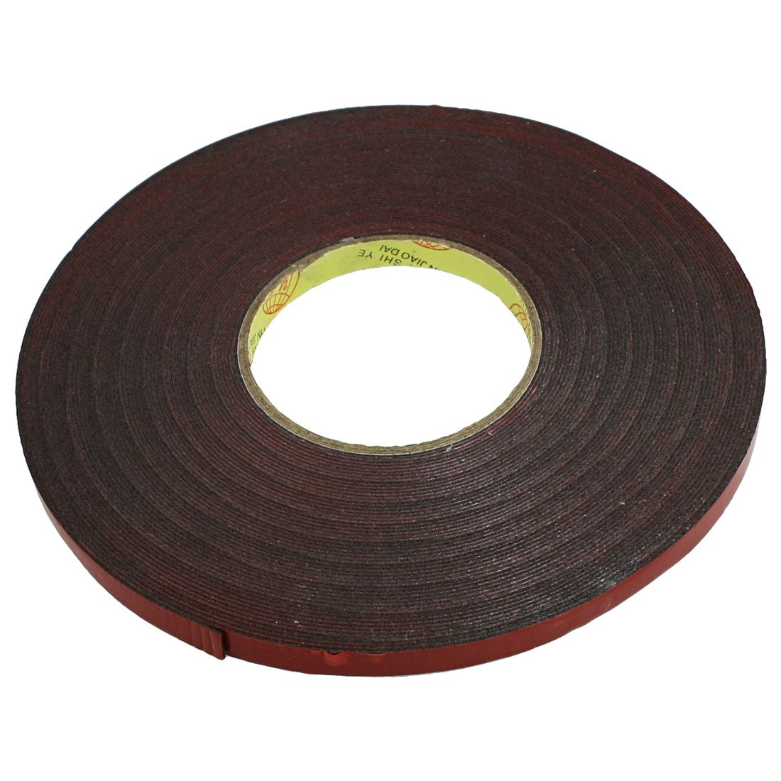 new 10mm width 30m length red film acrylic foam double sided tape for car pf 4894462048719 ebay. Black Bedroom Furniture Sets. Home Design Ideas